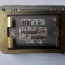 Компютър за Peugeot 306 1.6 PETROL ECU - BOSCH 0261206214 9632693880