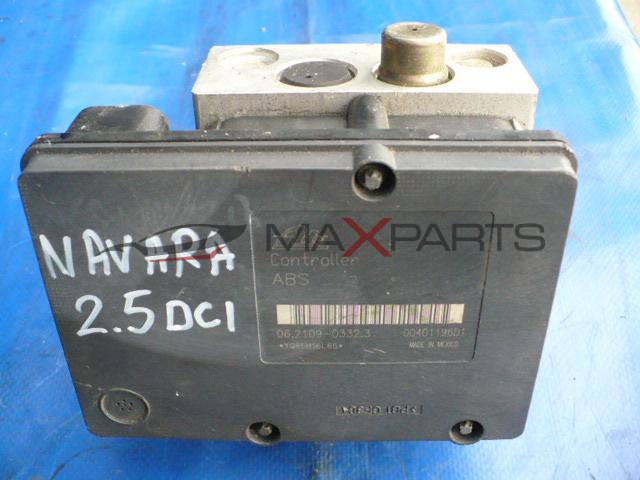 ABS модул за NISSAN NAVARA 2007 2.5 DCI 174 Hp ABS PUMP 06210903323 47660EB32A 06210204634